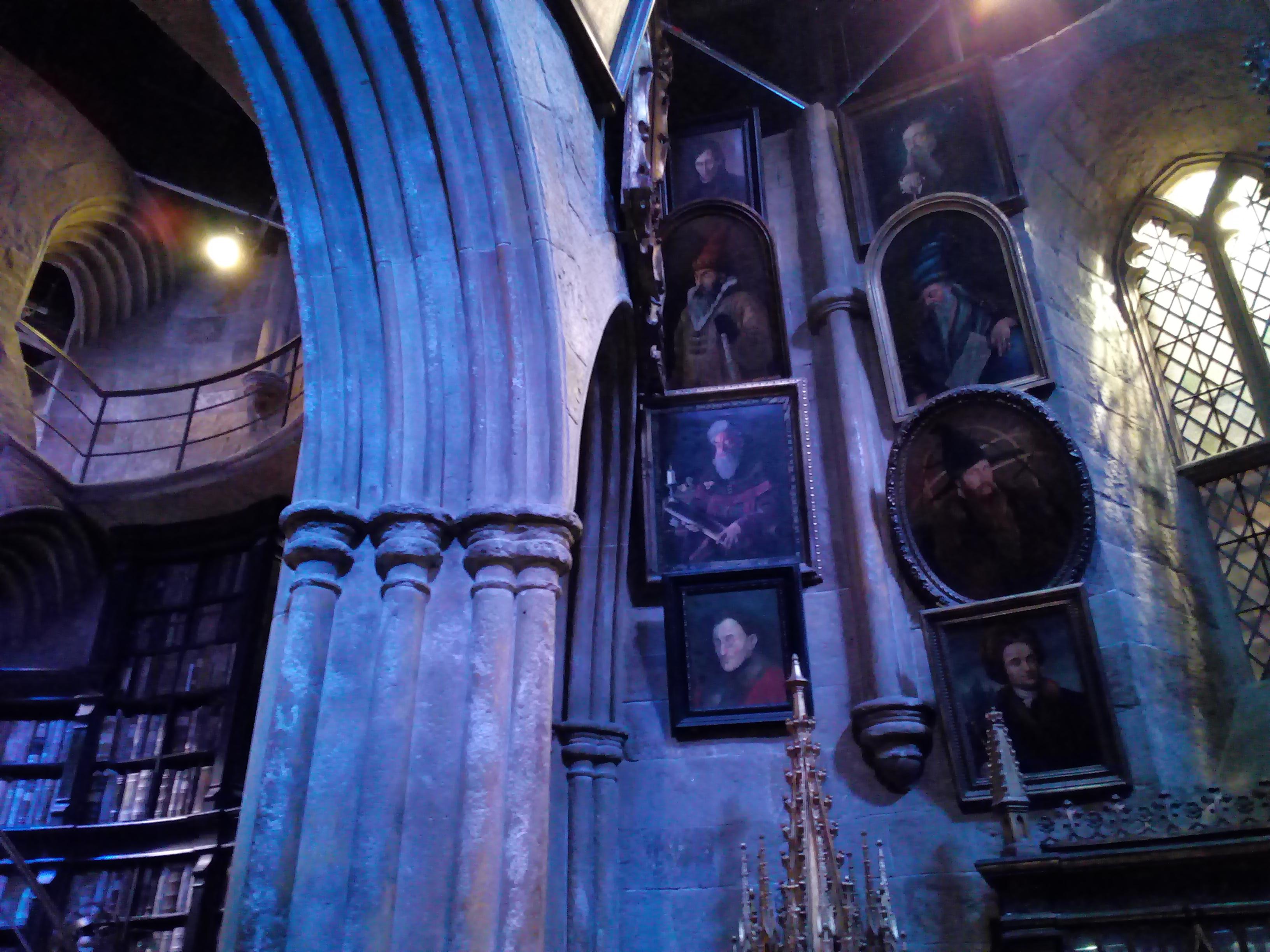 Le bureau du directeur - The Making of Harry Potter - Studio Tour London