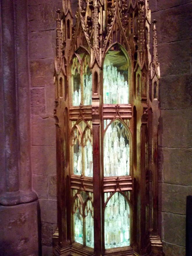 Le bureau du directeur et les fioles du souvenir - The Making of Harry Potter - Studio Tour London