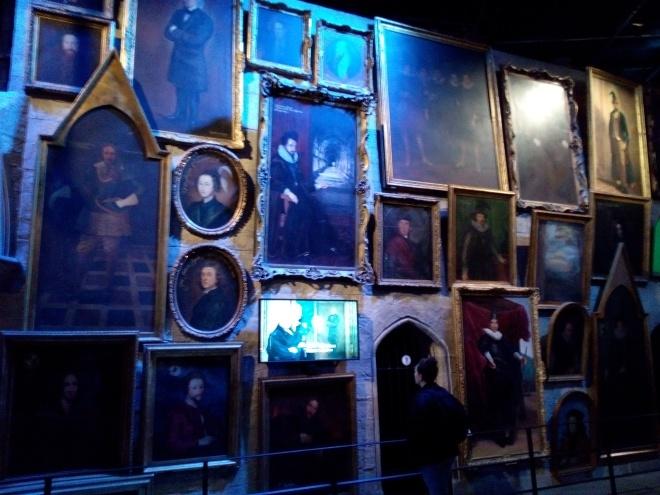 Les portraits de Poudlard - The Making of Harry Potter - Studio Tour London