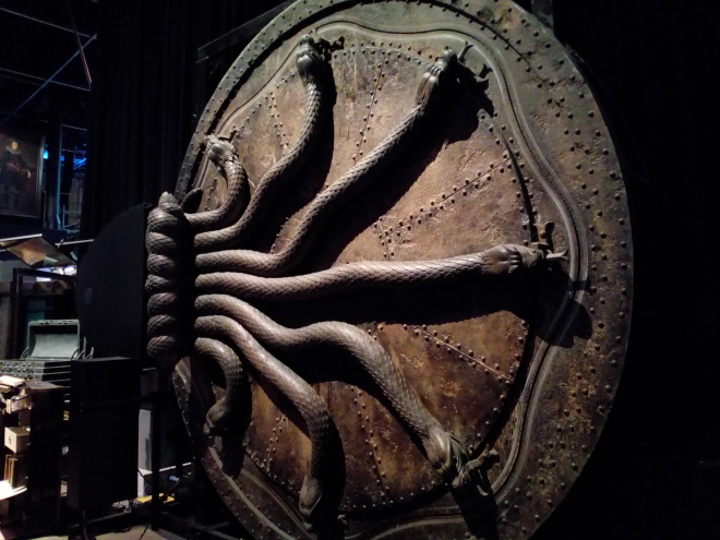 La porte de la Chambre des secrets - The Making of Harry Potter - Studio Tour London