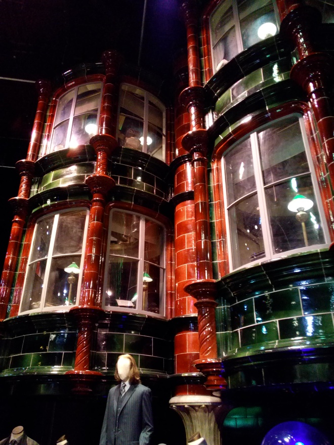 Chemin de Traverse - The Making of Harry Potter - Studio Tour London