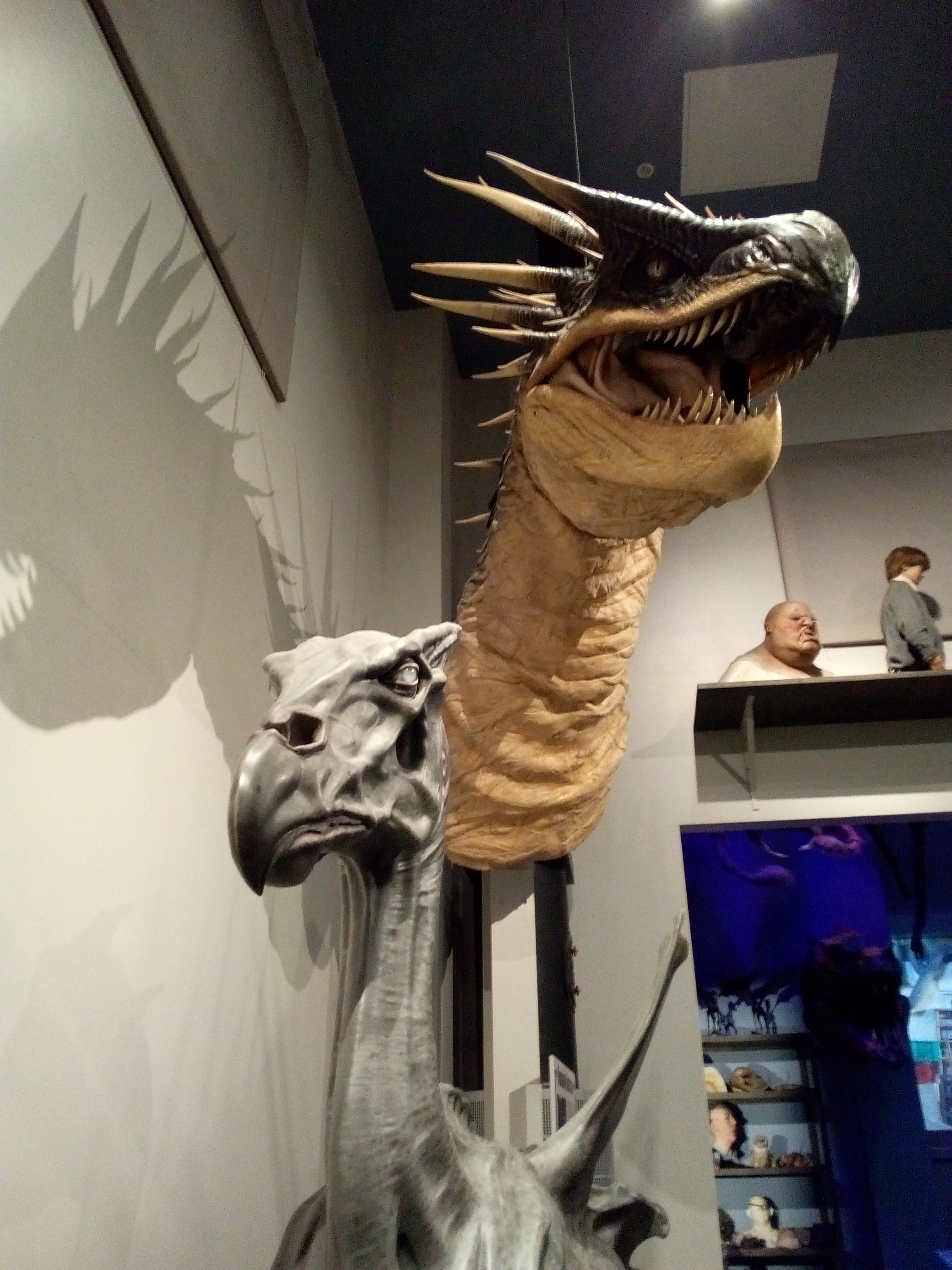 Dragon de Gringotts - The Making of Harry Potter - Studio Tour London