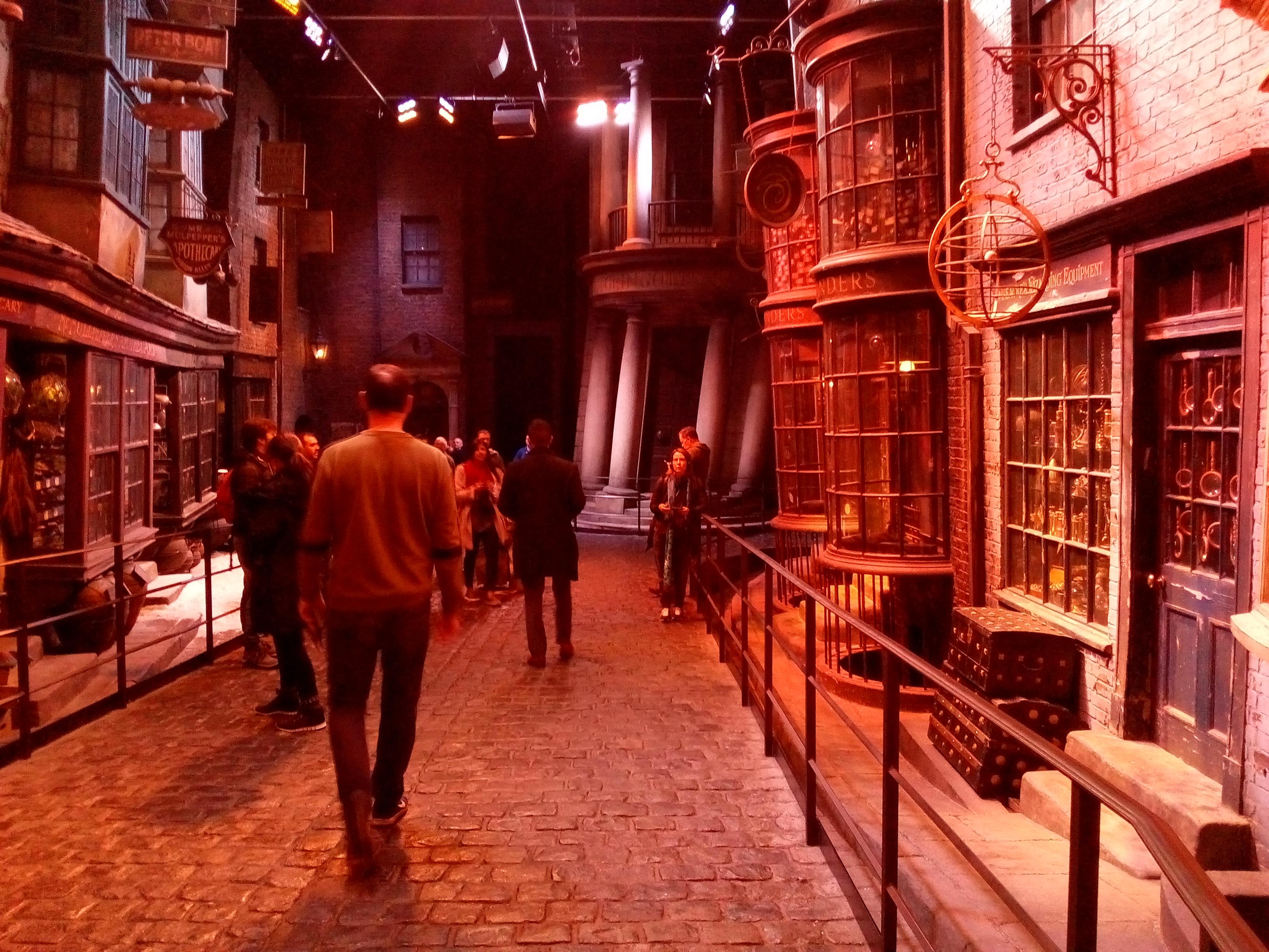 Entrée de Gringotts - The Making of Harry Potter - Studio Tour London