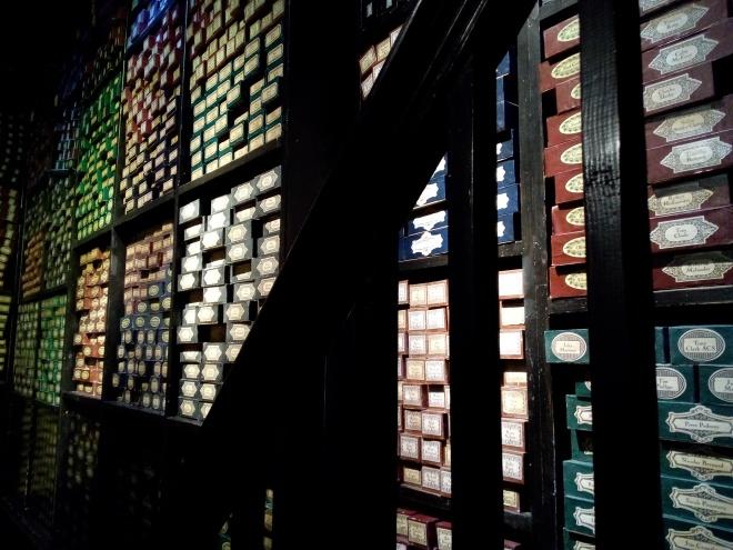 Chez Ollivander - The Making of Harry Potter - Studio Tour London