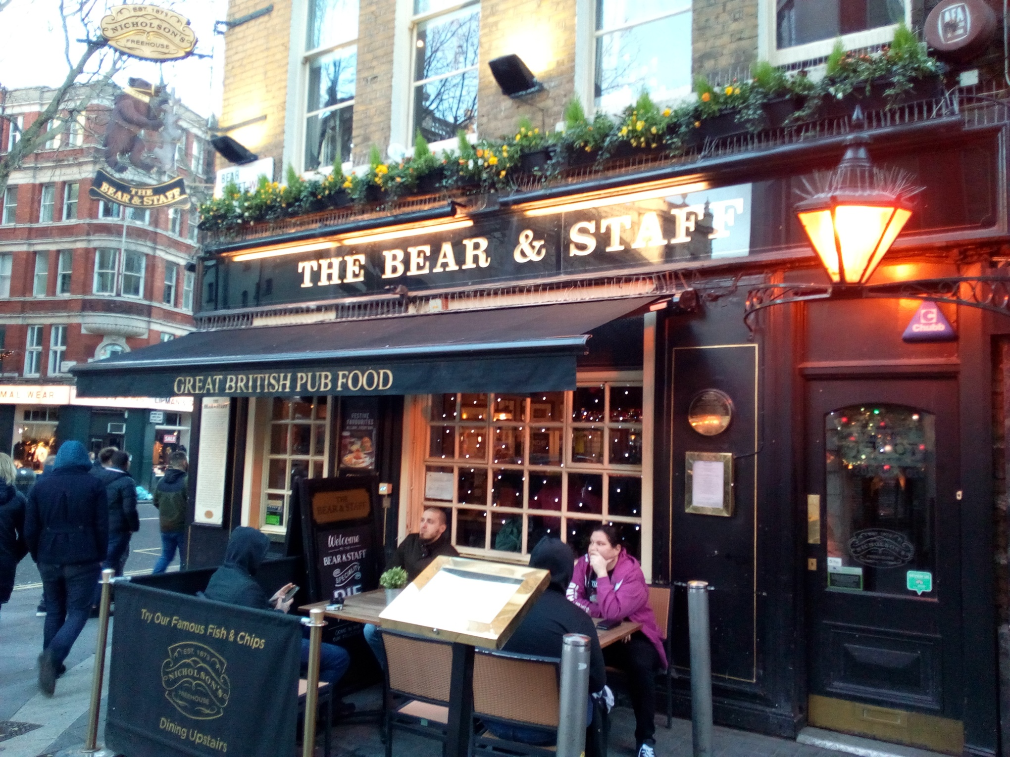 The Bear and Staff, London
