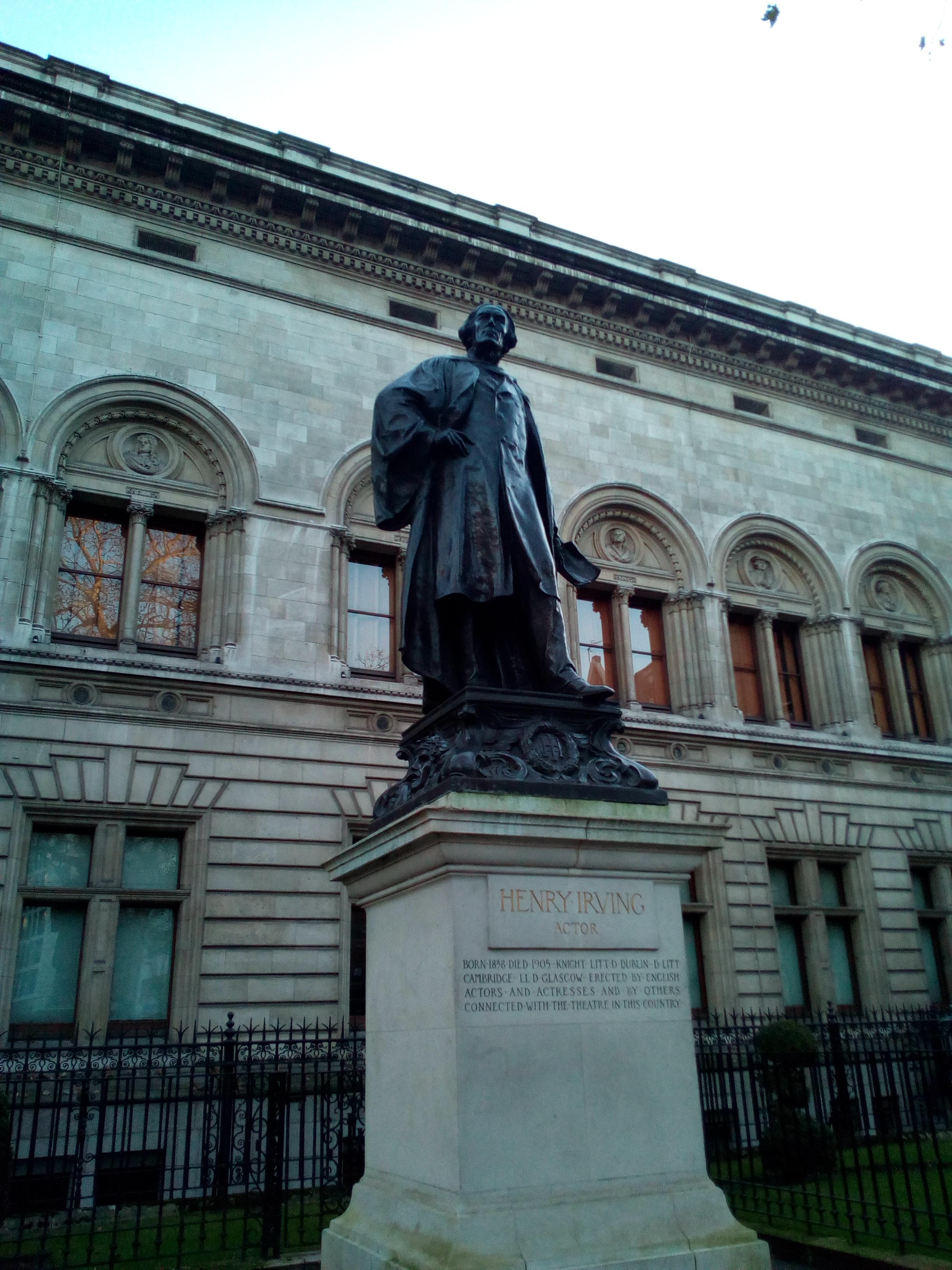 Henry Irving, London