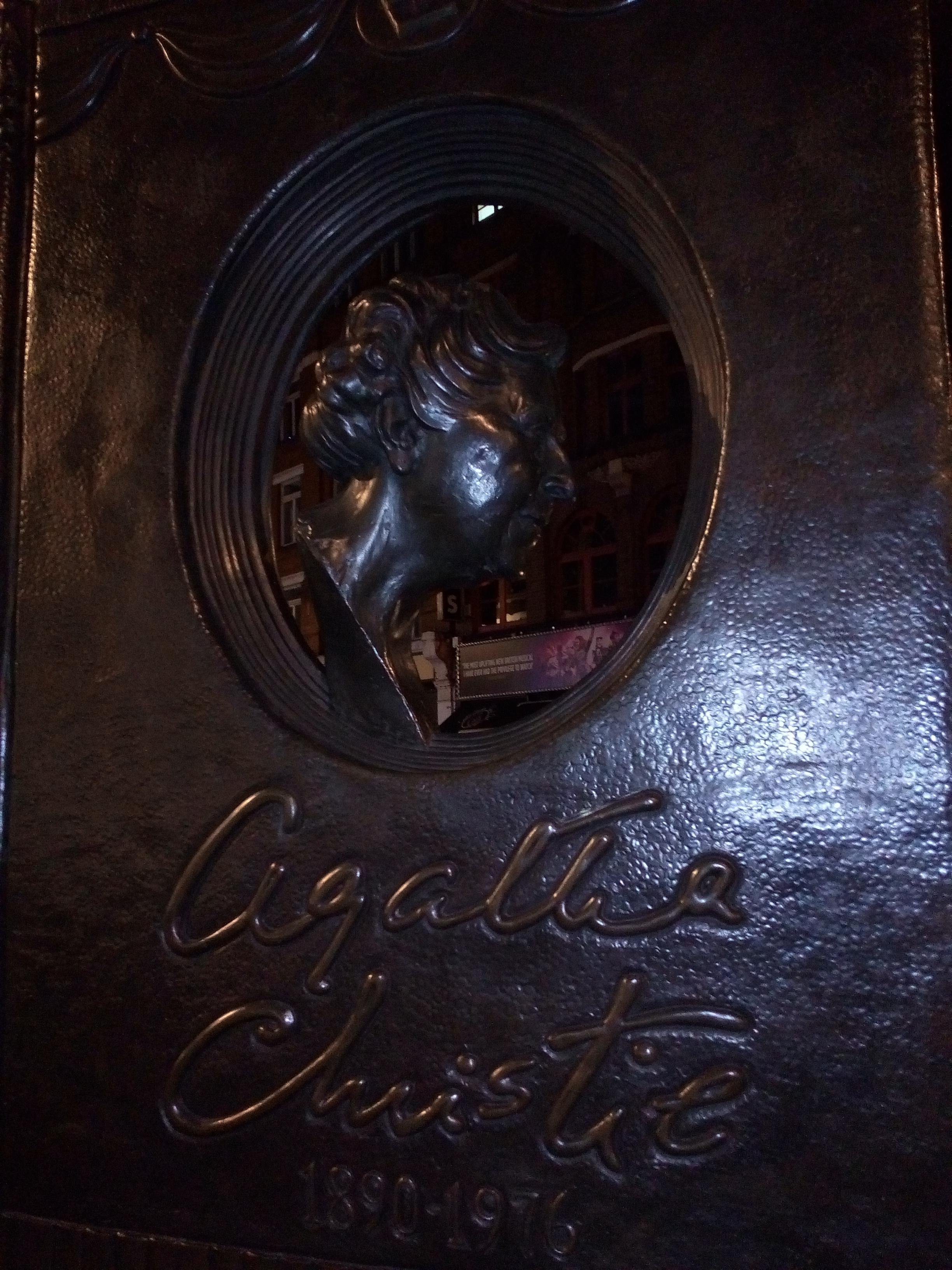 Agatha Christie memorial, London