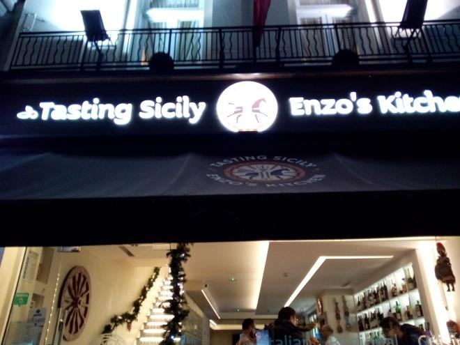 Tasting Sicily Enzo's Kitchen, London