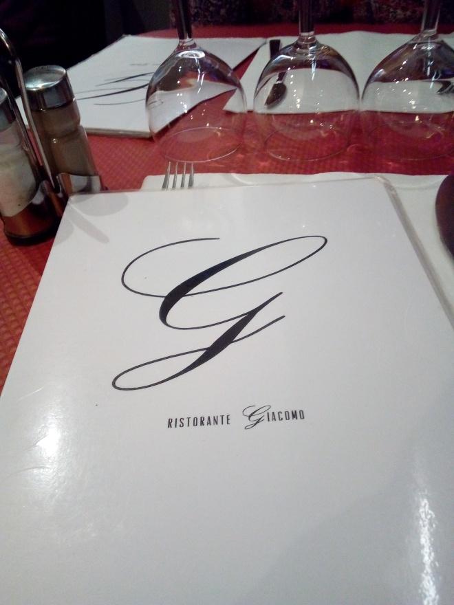 Da Giacomo, Paris