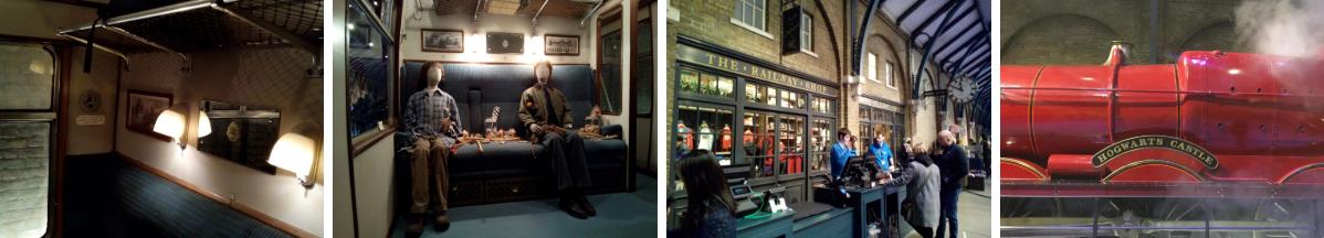La Gare de King's Cross - The Making of Harry Potter - Studio Tour London