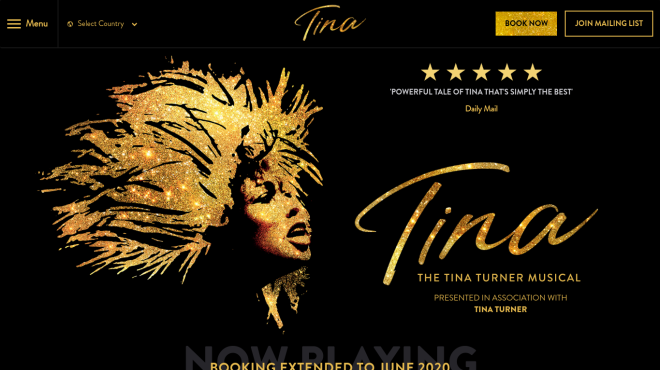 The Tina Turner Musical, London
