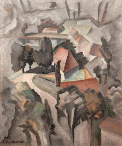 Village, 1925, Jean Burkhalter