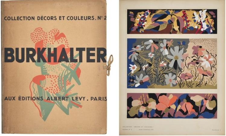 Collection décors et couleurs, Jean Burkhalter, 1931