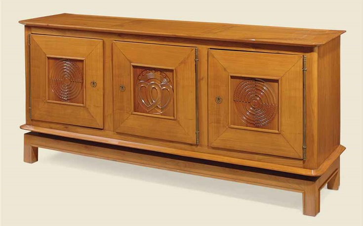 Cabinet, Jean Burkhalter, 1937