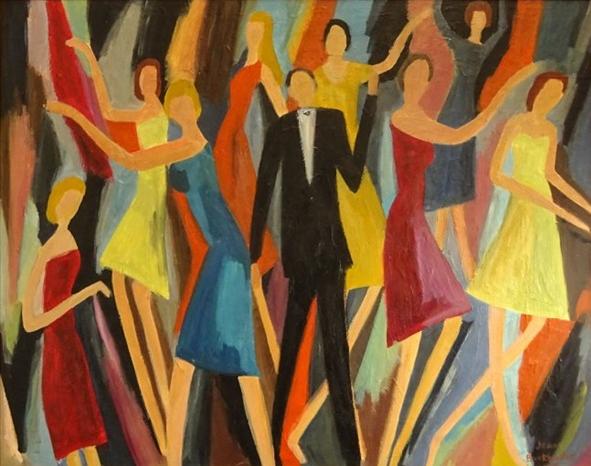 Dancers, Jean Burkhalter