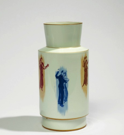Vase de Sèvres, Jean Burkhalter