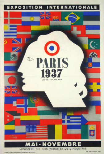 Affiche 1937, Jean Burkhalter