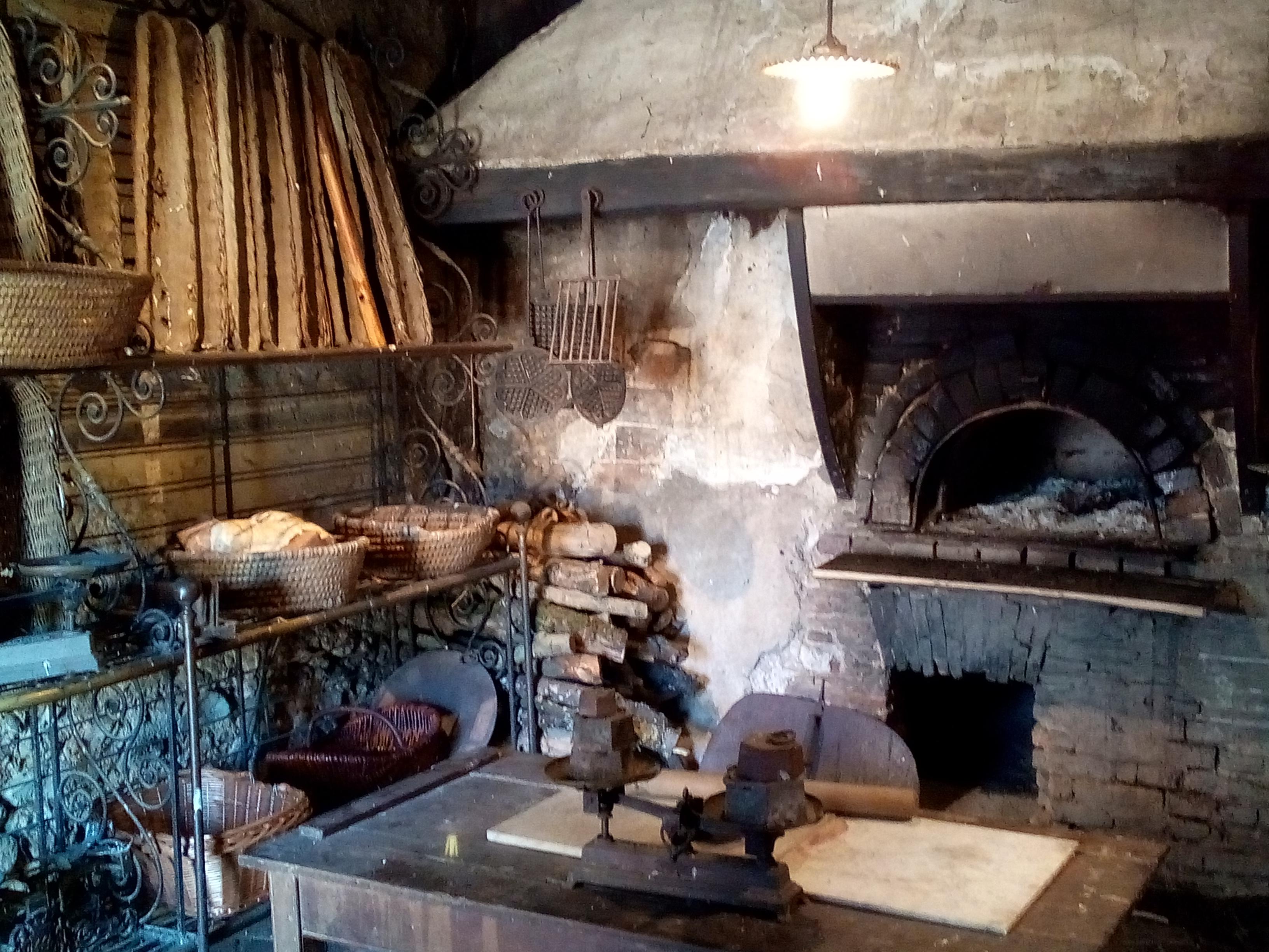 La boulangerie de la Ferme du château de Saint-Fargeau
