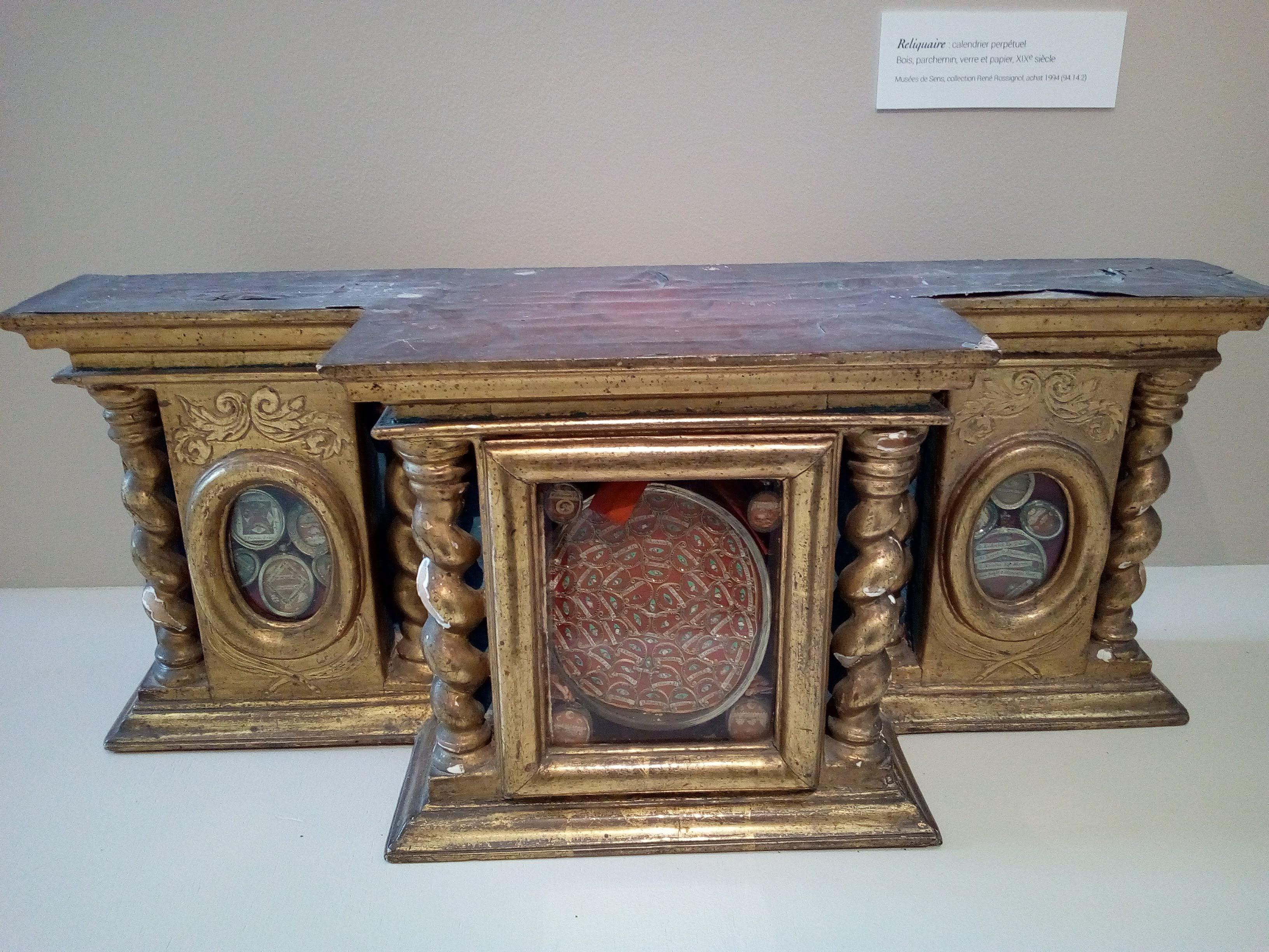 La Chambre des Merveilles à l'Orangerie des Musées de Sens