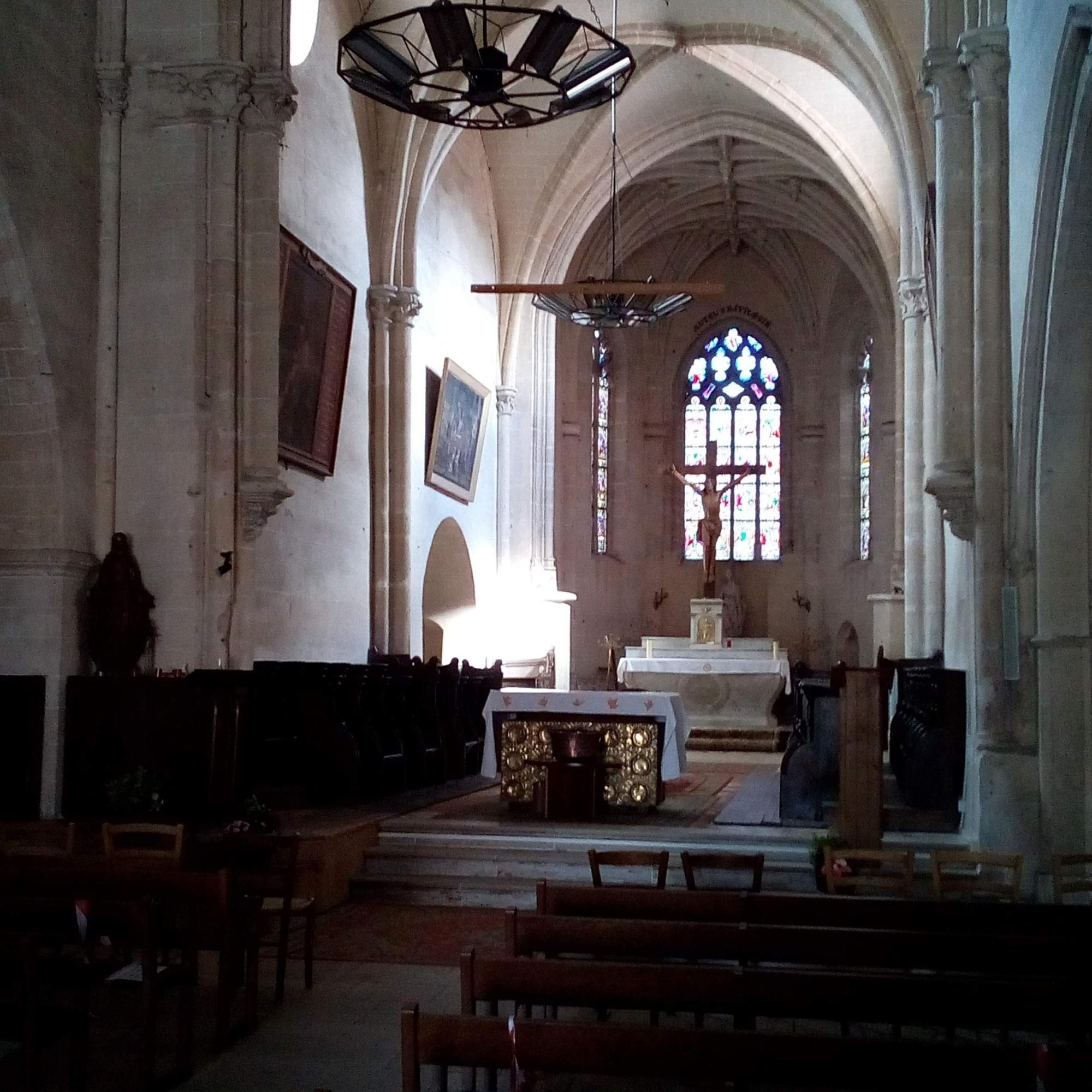 Eglise Saint Ferréol, Saint-Fargeau