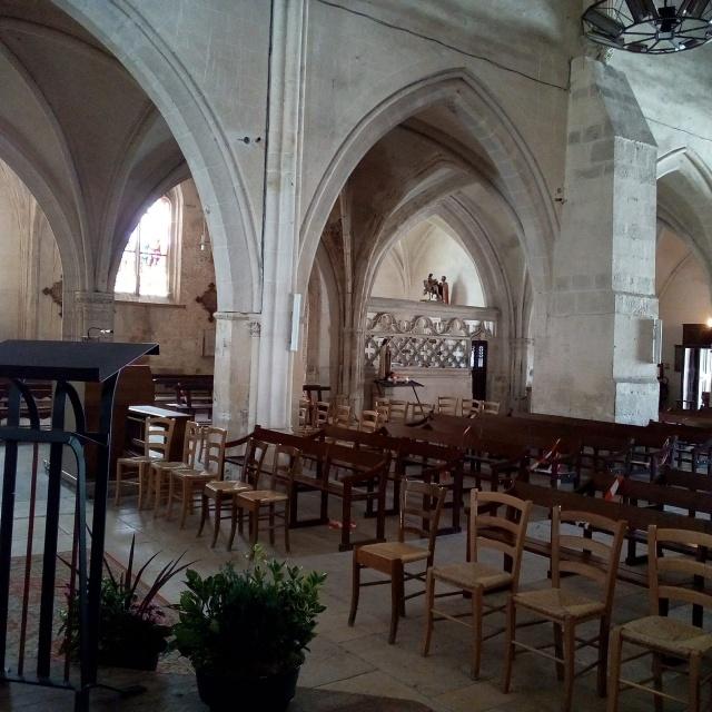 Eglise Saint Ferreol, Saint-Fargeau