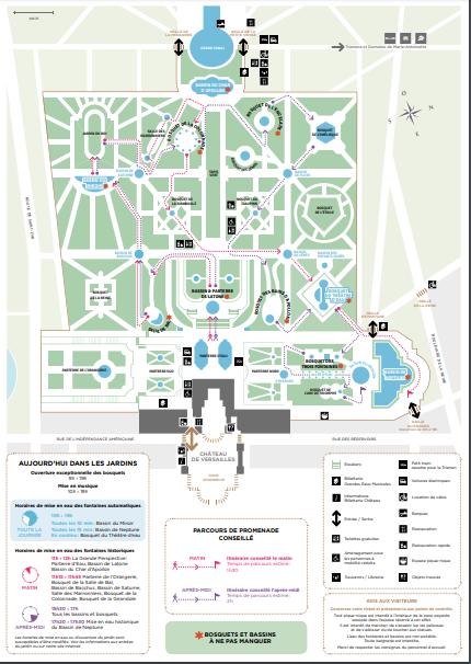 Les grandes Eaux du Château de Versailles