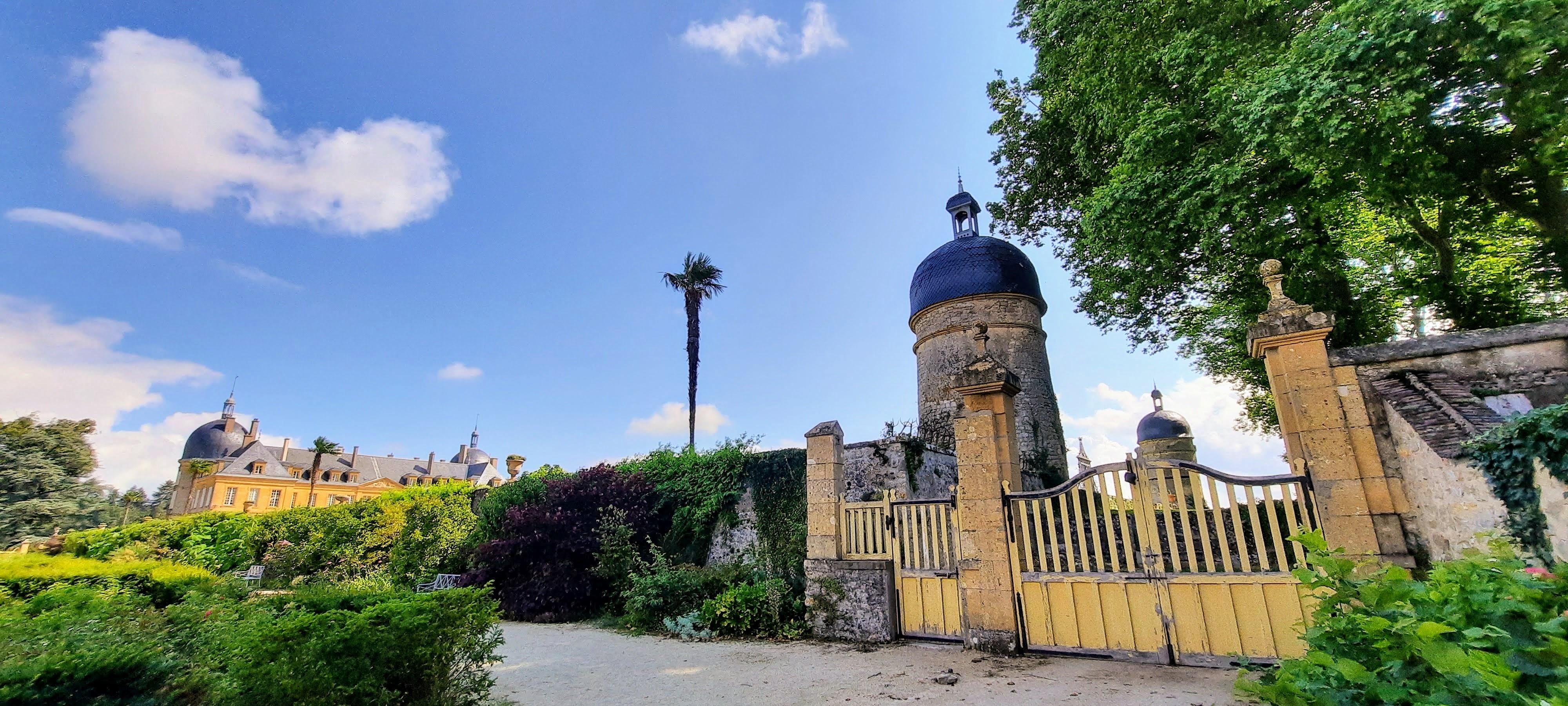 Le château de Digoine